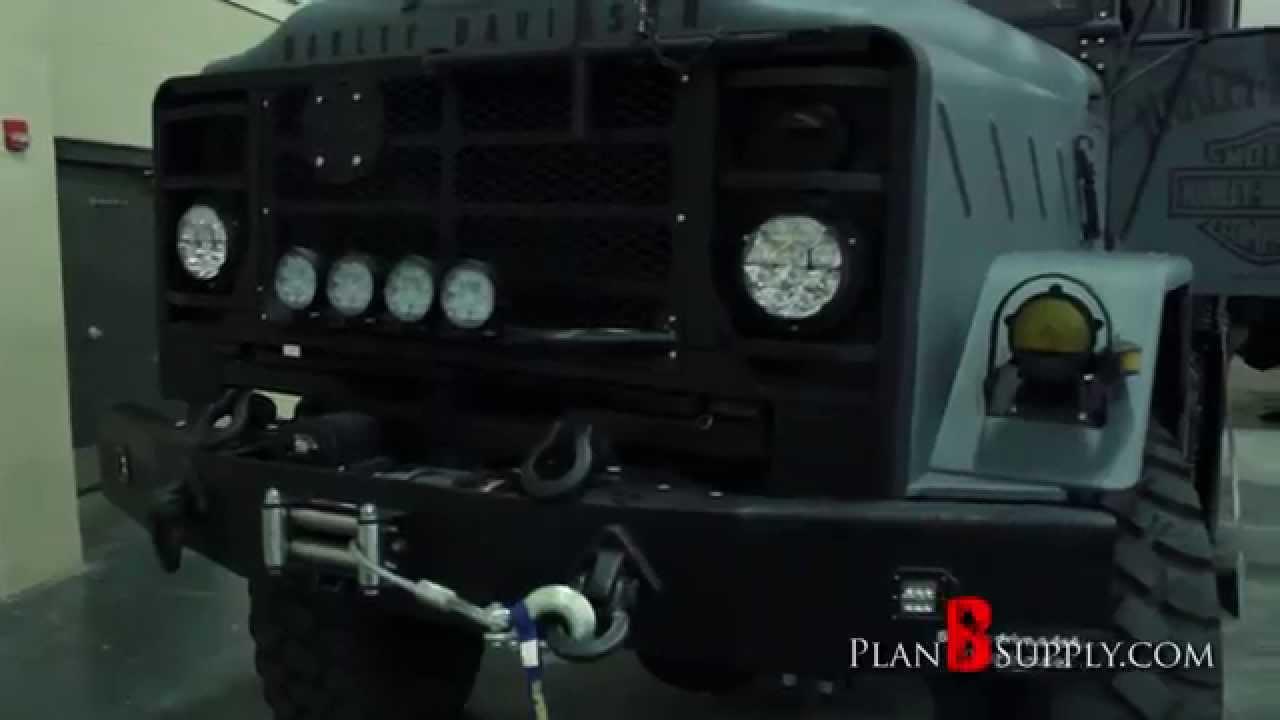 Custom Military Truck bobbed deuce and a half 5ton crewcab