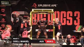 BIG DOGS 3 2018 Squat Pro Raw ПРИСЕД