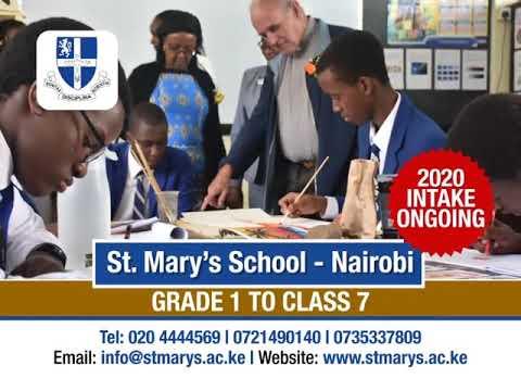 ST MARY'S SCHOOL - NAIROBI.
