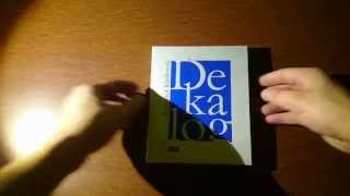 Dekalog - The Decalogue Krzysztof Kieślowski Blu-Ray Unboxing