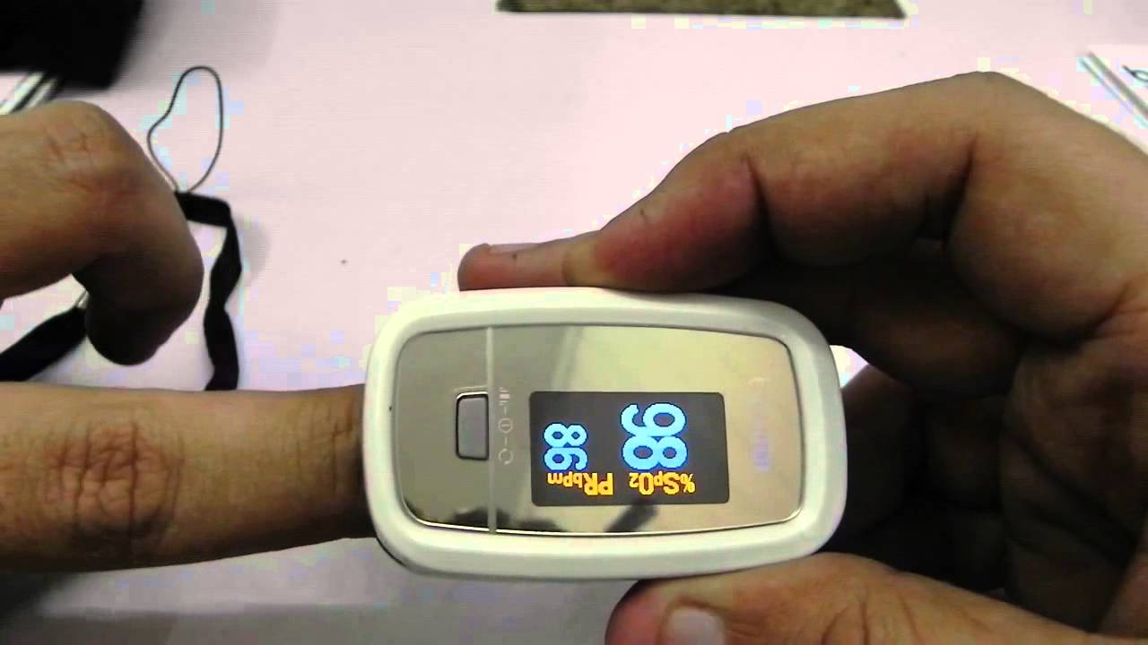 How To Use A Pulse Oximeter  Beurer Po30