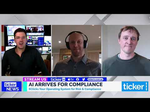 The Arrival of AI for Risk & Compliance - Anthony Stevens & Andrew Robinson on tickerTV