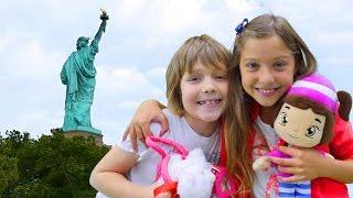 Hayal ailesi 2: Polen ve Adrian Amerika'da