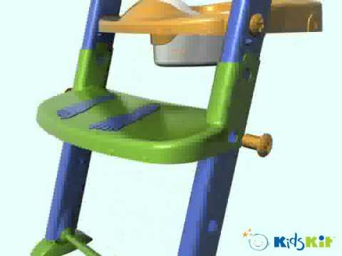 3 In 1 Toilet Trainer Potty Seat Assembly From One Step