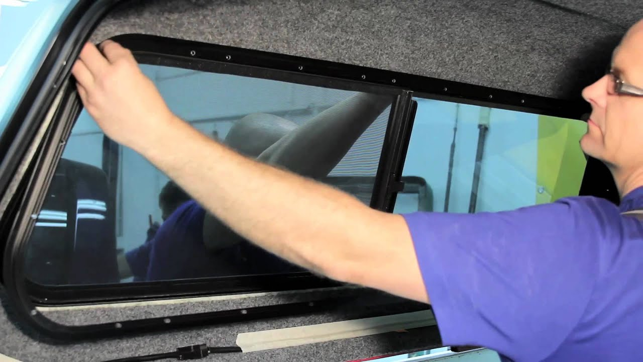 Ht Side Window Replacement Framed Youtube