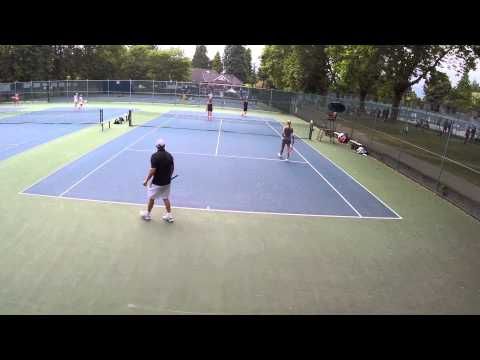 Stanley Park Open 2014 - Mixed Doubles 4.5 Semi-Final