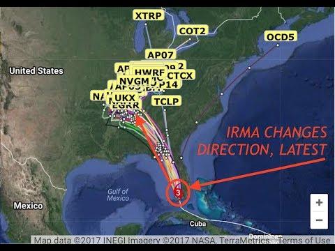Hurricane Irma, Latest Path Updates, Changes Course, Flooding Maps, 9/10/17