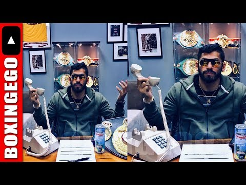 JORGE LINARES CALLS OUT VASYL LOMACHENKO AGAIN; WAITS BY THE PHONE...