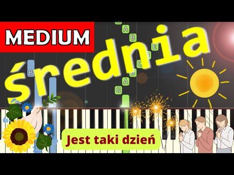 🎹 Jest taki dzień/Dzień jeden w roku (Czerwone Gitary) - Piano Tutorial (średnia wersja) 🎹