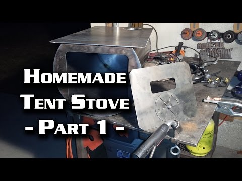 Tent stove from propane bottle part 4 funnycat tv Propane stove left on overnight