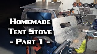 Building a Wall Tent Stove Part 1 (Cylinder Stove)