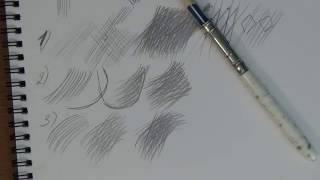 основы рисунка. Часть 2 - классическая штриховка