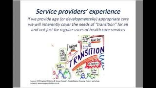 The transition from child to adult services with rehabilitation needs