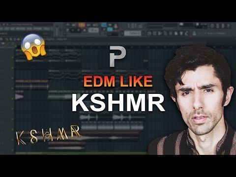HOW TO MAKE: EDM like KSHMR - FL Studio tutorial + FLP