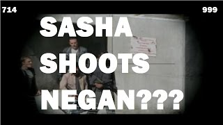 The Walking Dead Season 7 - Episode 14 - SASHA SHOOTS NEGAN?!?
