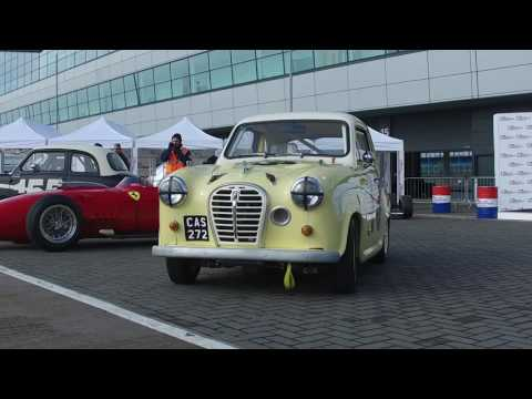 Ant Anstead talking about the Silverstone Classic Celebrity Race