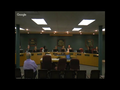Board of Education Meeting 4/23/2018