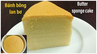 Cách làm bánh BÔNG LAN BƠ mềm, mịn, xốp, tan trong miệng