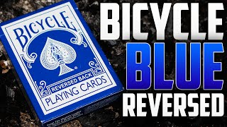 Deck Review - Bicycle Reversed Blue Ice Playing Cards [HD]