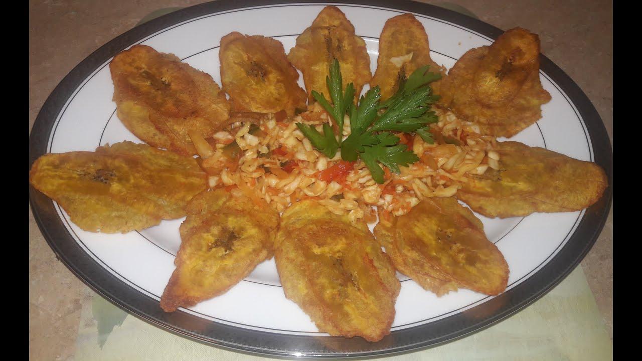 How I Make Haitian Bannann Peze (Fried Plantain) Easy and ...