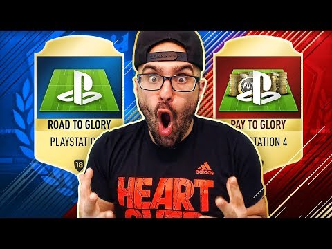 EPIC A NEW SERIES PS4 RTG!?! #FIFA 18 ROAD TO GLORY OR PAY TO GLORY