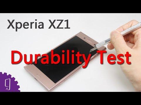 Sony Xperia XZ1 Durability Test | Screen Scratch Test | Camera Lens Scratch