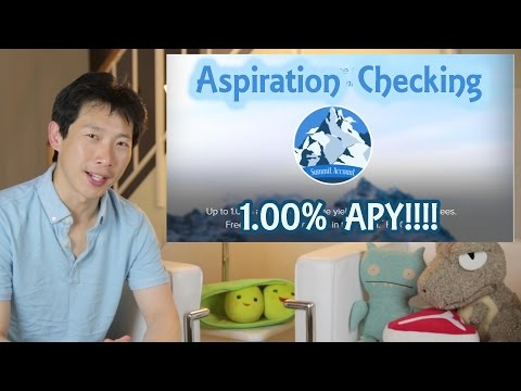 Aspiration Checking with 1.00% APY | BeatTheBush