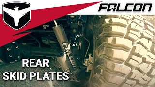 Falcon Shocks: JK Rear Shock Skid Plate