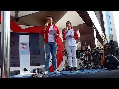 MC Danar Gumilang (World Heart Day, Plaza BRI Jakarta,  22 Oktober 2017)