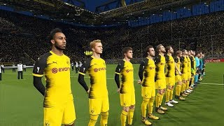 PES 2018 / Borussia Dortmund vs Atalanta / UEFA Europa League / Gameplay PC