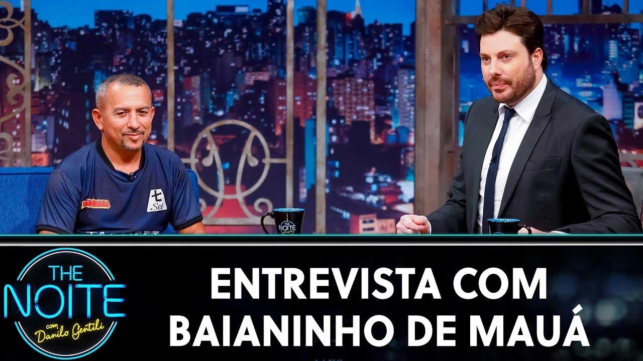 Entrevista com Baianinho de Mauá | The Noite (12/12/19)