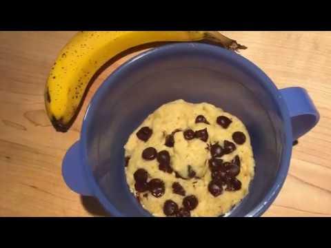 gâteau-aux-bananes-dans-une-tasse-cristal-ondes-tupperware