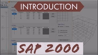 SAP 2000 Tutorial For Beginners [Chapter 1]: Introduction Part 1