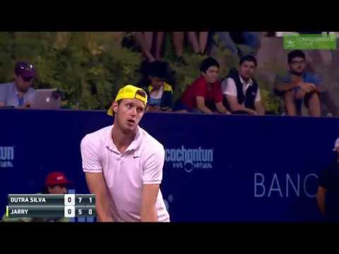 Nicolas Jarry vs Rogerio Dutra Silva HIGHLIGHTS Challenger Santiago 2017