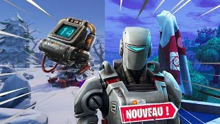 THE SECRET OF THE TRAQUE SKIN - NEW DAY ON FORTNITE