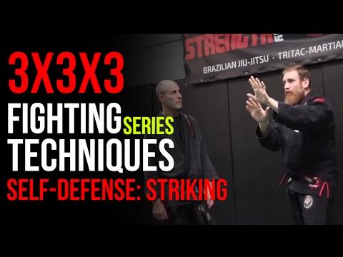 3x3x3 Fighting Techniques Series: Striking Self Defense