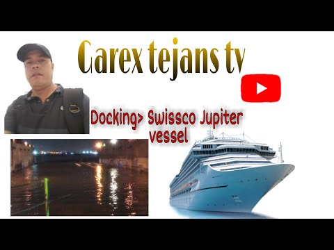 DRY DOCKING.A SHIP SWISSCO  JUPITER SUPPLY BOAT