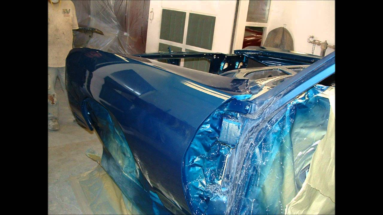 Paint Clear Coating Color Sanding You