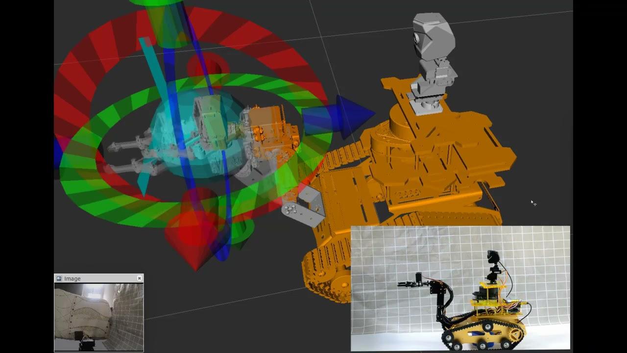 JetsonNANO激光雷達 Moveit機械臂 ROS小車機器人建圖導航
