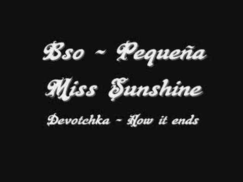 Bso - Pequeña Miss Sunshine