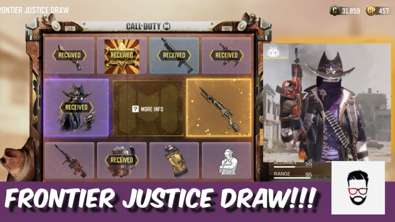 Frontier Justice Draw Outlaw High Noon Seraph Tombstone Gameplay Cod Mobile Youtube