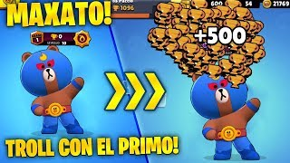 +500 TROFEI in *1 PARTITA*! TROLL con *El Brown* MAXATO a 0 COPPE! Brawl Stars ITA!