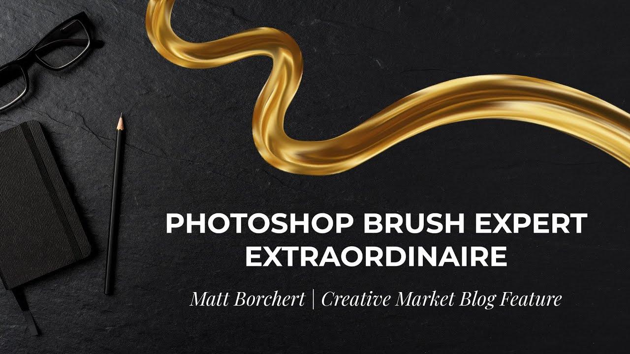 Photoshop Brush Magic: Revolutionary Color Blending Impressionist