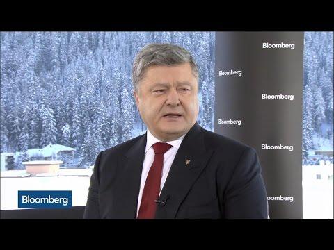 Ukraine's Poroshenko: Confident Good U.S. Ties Continue