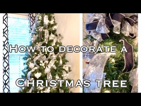 How to Decorate a Christmas Tree|Christmas Trees and Greetings🎄