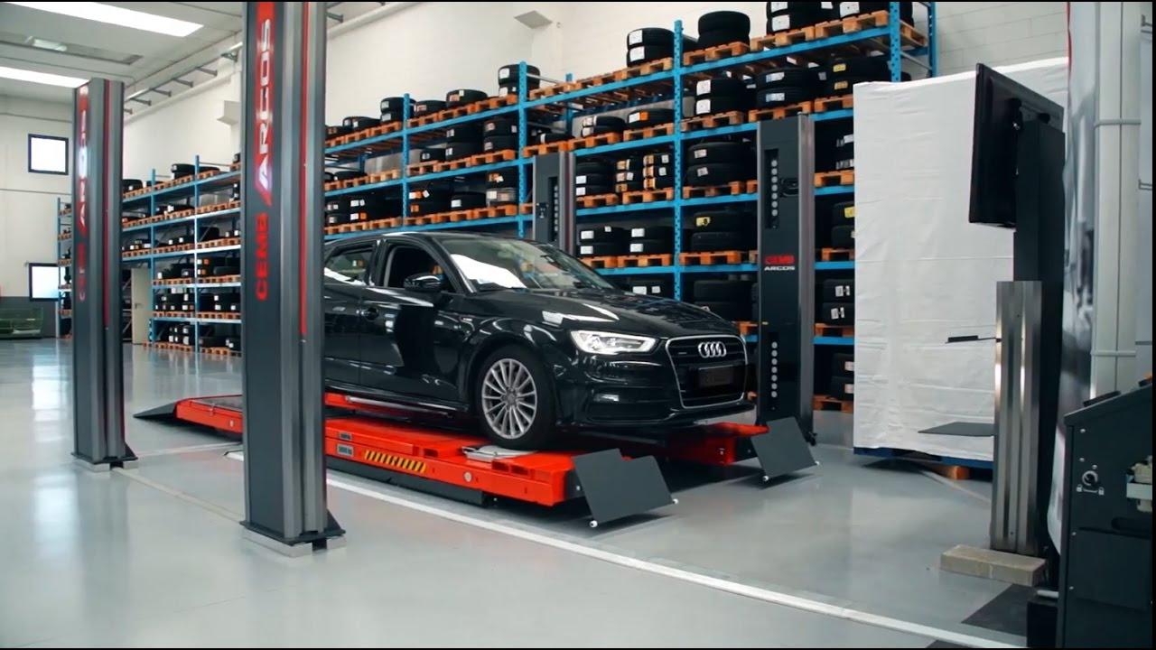 Wheel Alignment Machine >> CEMB USA ARGOS - Touchless Wheel Alignment - YouTube