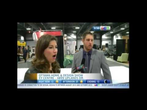 CTV's Sarah Freemark visits Sleep Country Canada at the Ottawa Home & Design Show