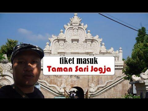 Harga Tiket Masuk Taman Sari Jogja Youtube