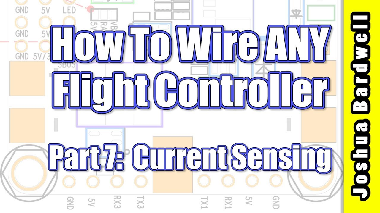 Flight Controller Wiring For Beginners - Part 7 - Current Sensing on