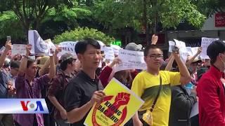 Giáo sư Tạ Văn Tài: Biểu tình là 'dấu hiệu cho nhà cầm quyền phải tỉnh ngộ (VOA)
